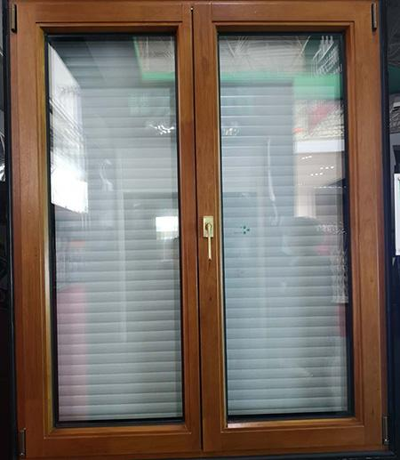 Casement Window with Built-in Blinds