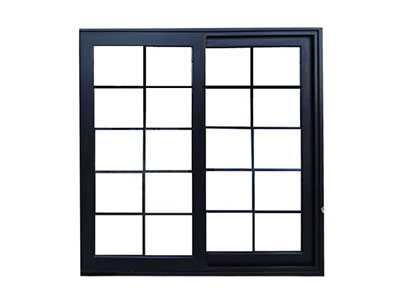 Aluminum Sliding Window, with Aluminum reinforcing Bars