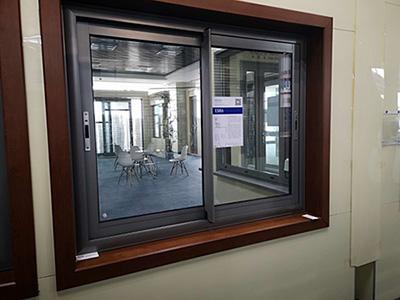ES86 Double Sliding Window