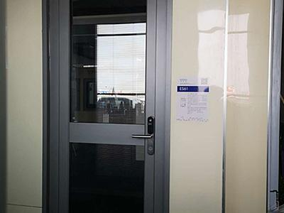 ES61 Swing Door With Fingerprint Lock