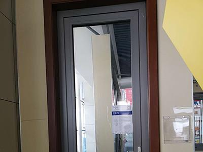 ES70 Heavy Duty Aluminum Swing Door