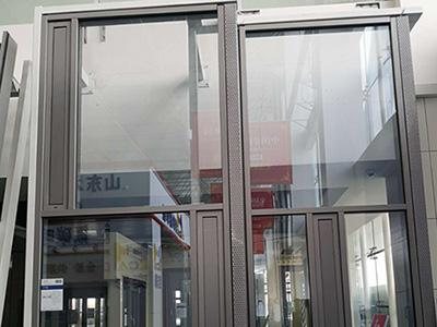 Glass Facades with Concealed Vents