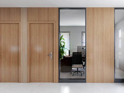 Wood with Aluminum Partition