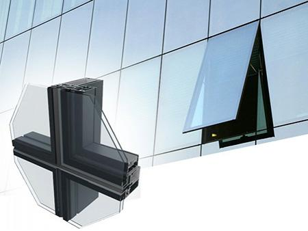 Aluminum Curtain Wall System